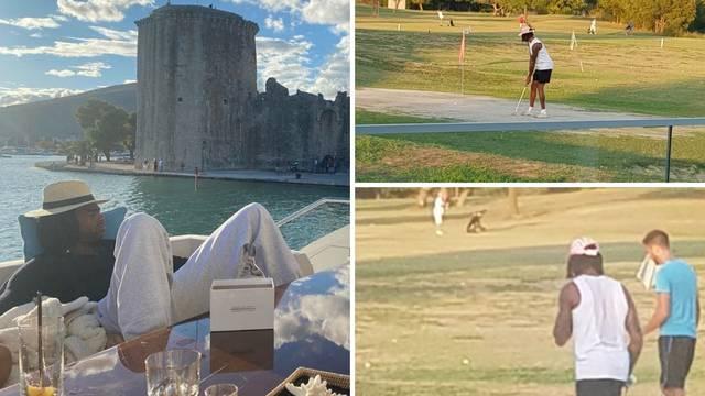 NBA zvijezda teška 120 milijuna dolara igra golf u Splitu...
