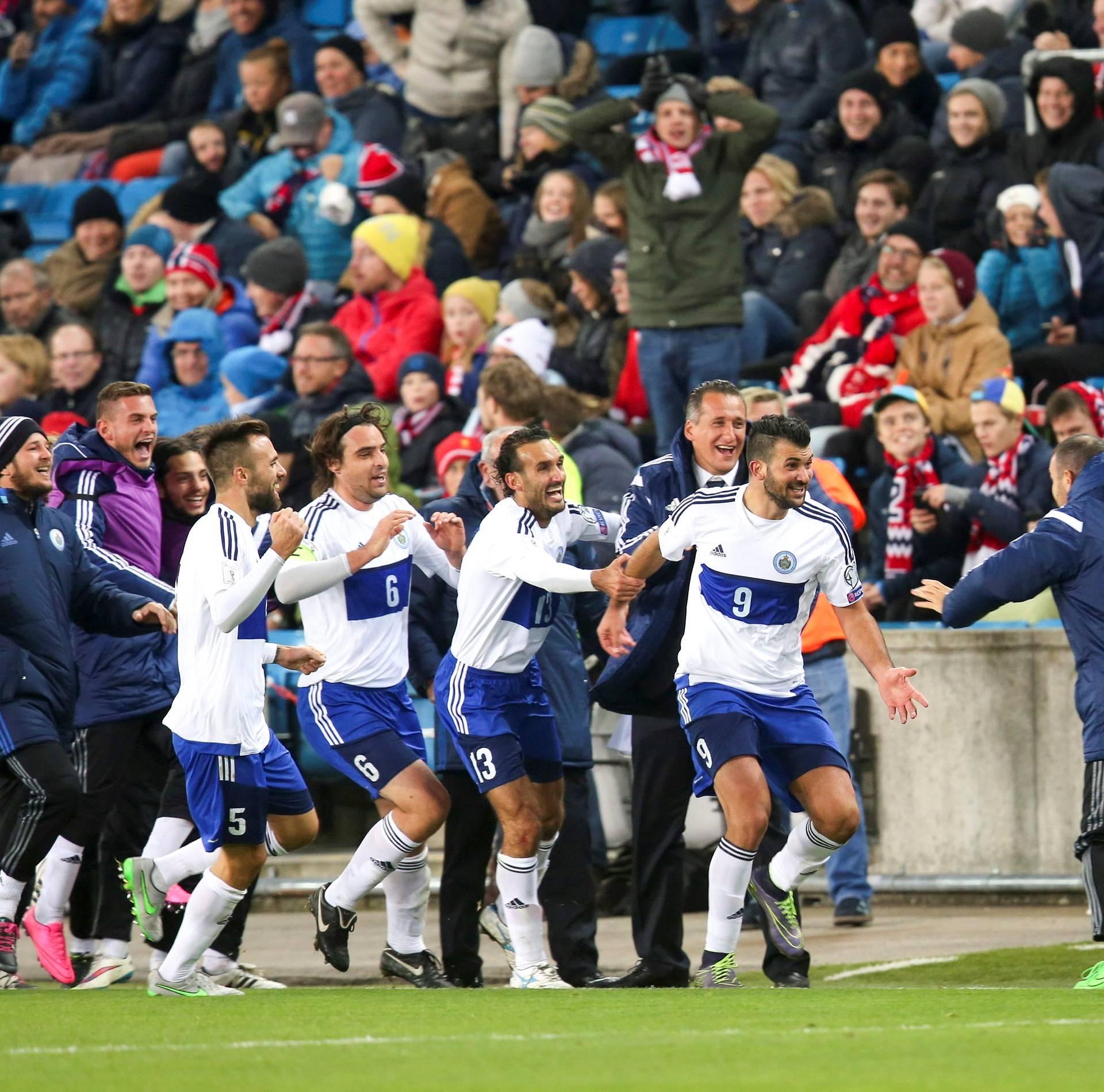 Football Soccer - Norway v San Marino - 2018 World Cup Qualifier