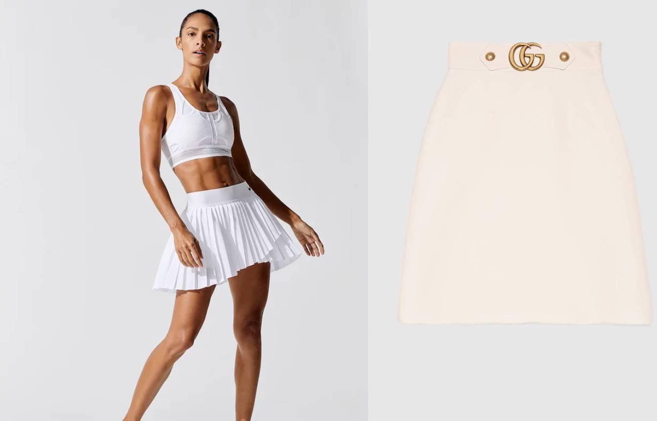 Svijet mode inspirira se retro teniskim krojevima, bijelom bojom i plisiranim suknjama