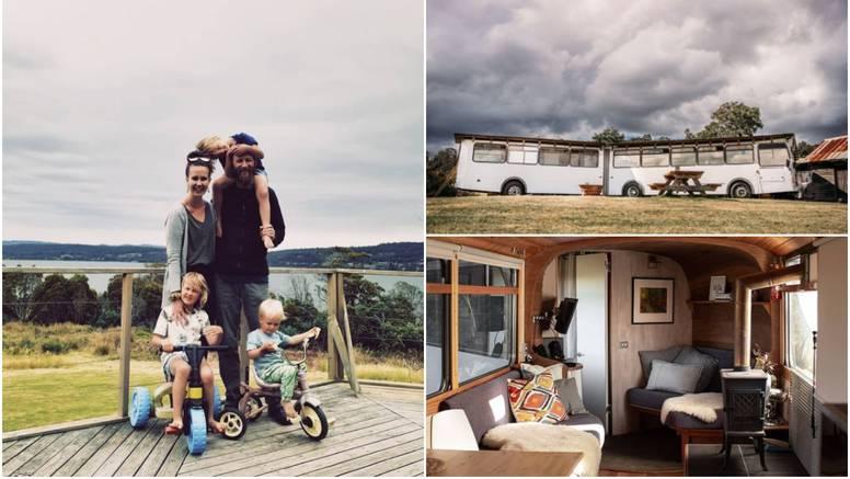 Od autobusa 'harmonikaša' su uspjeli napraviti dom iz snova