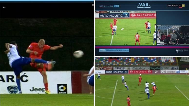 Jeste li gledali luđu utakmicu? Pogledajte sve sporne situacije s utakmice Hajduka i Gorice...