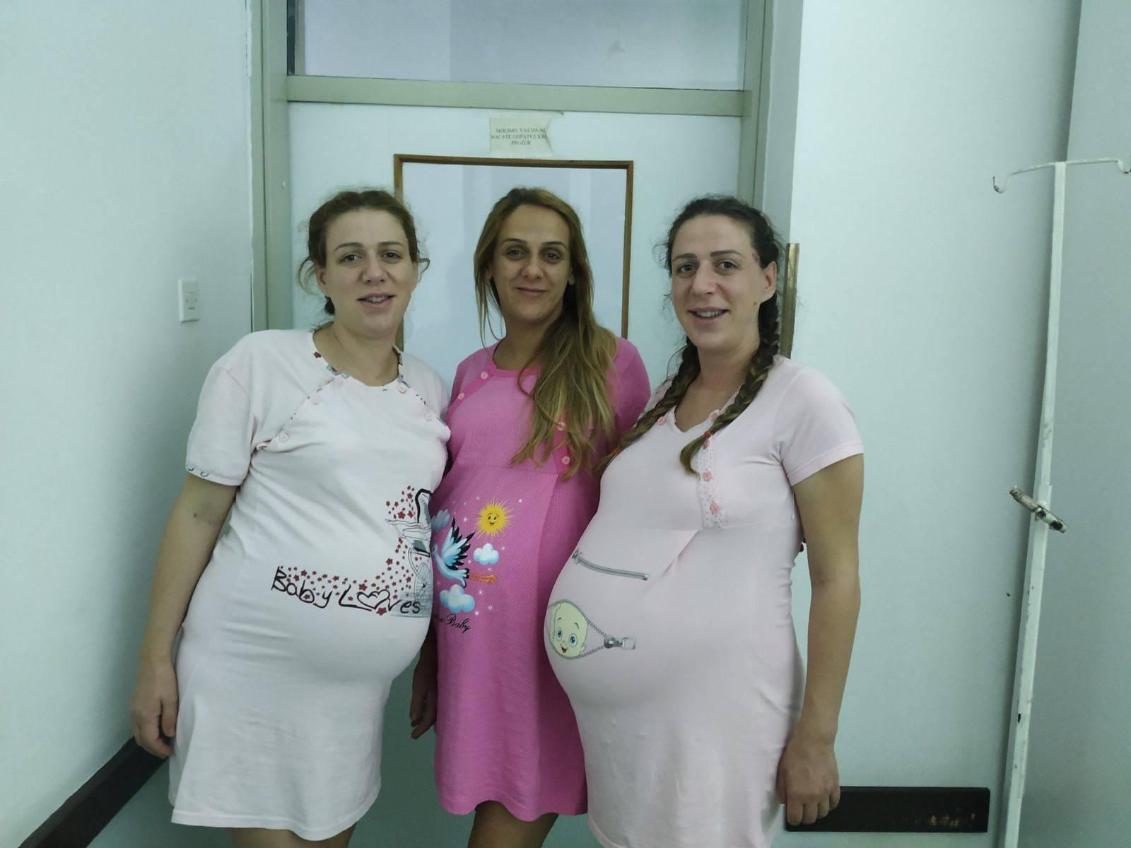 Tri sestre rodile su četvero djece - gotovo u isto vrijeme