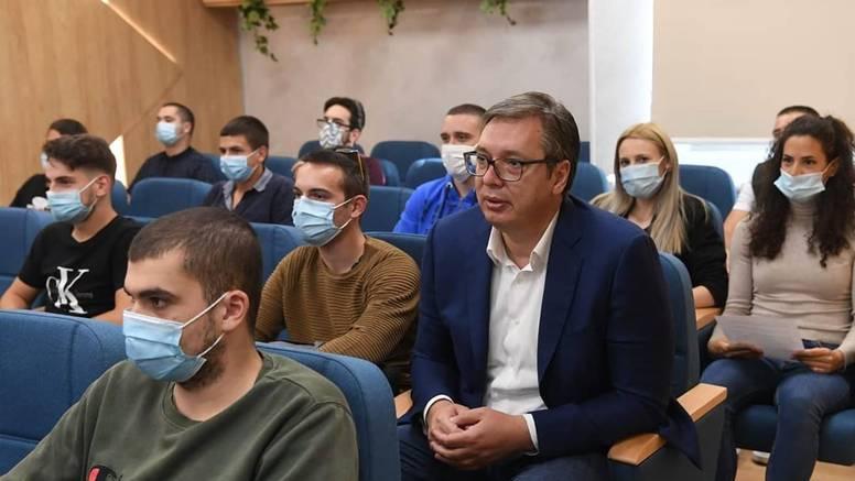 Ostvaruje dječačke snove: Vučić je  brucoš Visoke sportske škole!