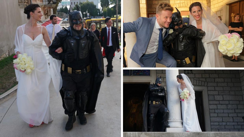 Mladenku je u Gothamu, ovaj... Puli, do oltara odveo - Batman