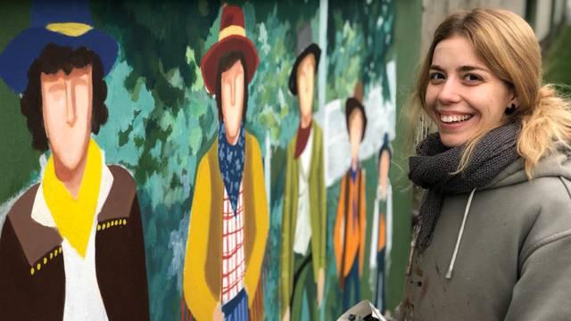 Umjetnica Mia: Smogovci su mi obilježili djetinjstvo, a sada radim njihove murale u Naselku
