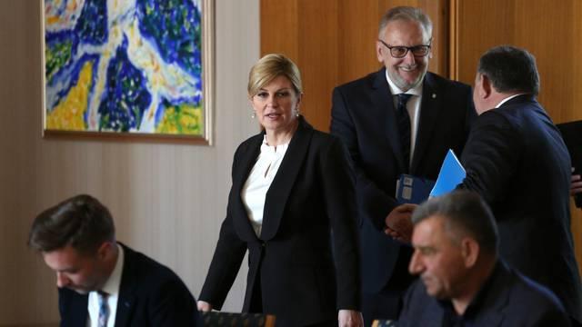 Zagreb: XV. sjednici Vijeća za domovinsku sigurnost Predsjednice Republike
