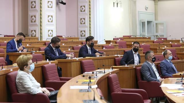 U Saboru zastupnici se izjašnjavali o amandmanima podnesenim na rebalans proračuna