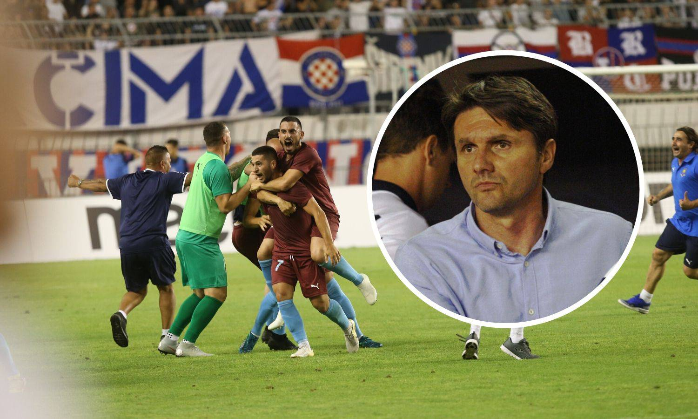 'Napravili smo dobar posao u Hajduku. Gzira? Neću  gledati'