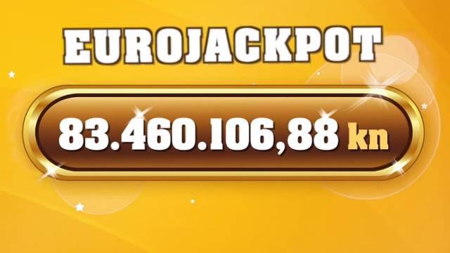 Pogođen Eurojackpot! Sretnik je osvojio više od 83 milijuna kuna