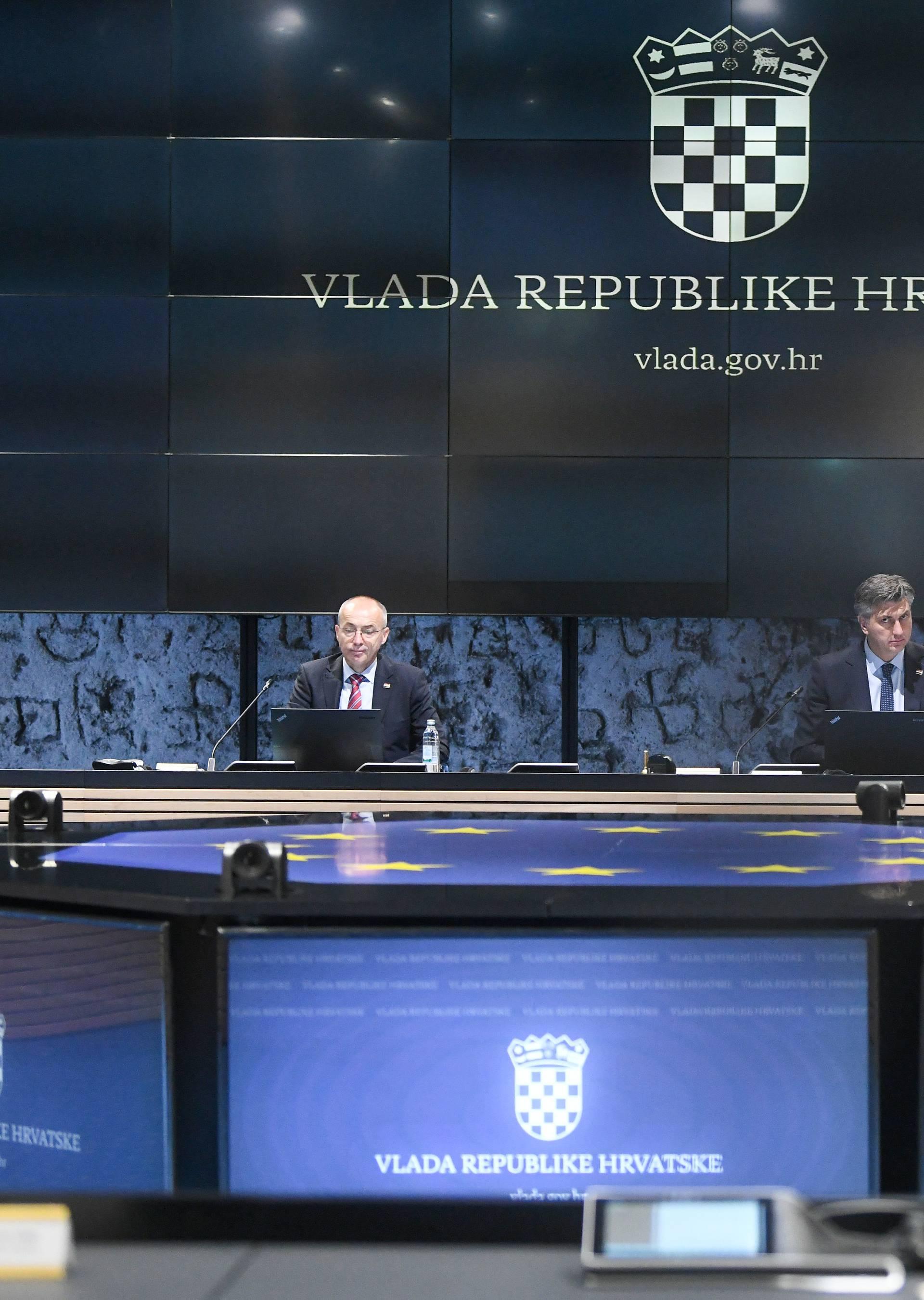 Zagreb: 220. sjednica Vlade održana u Nacionalnoj i sveučilišnoj knjižnici