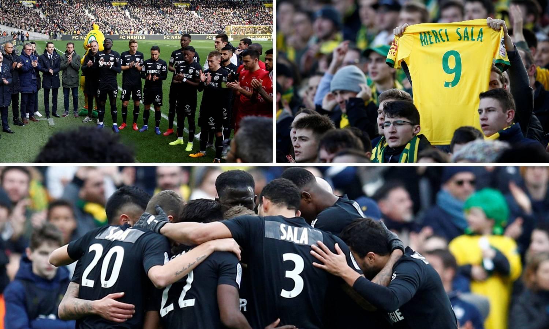 Posljednji pozdrav: Salino ime na crnim dresovima Nantesa...