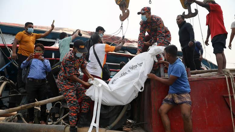 Najmanje 26 ljudi poginulo u sudaru trajekta i teretnog broda
