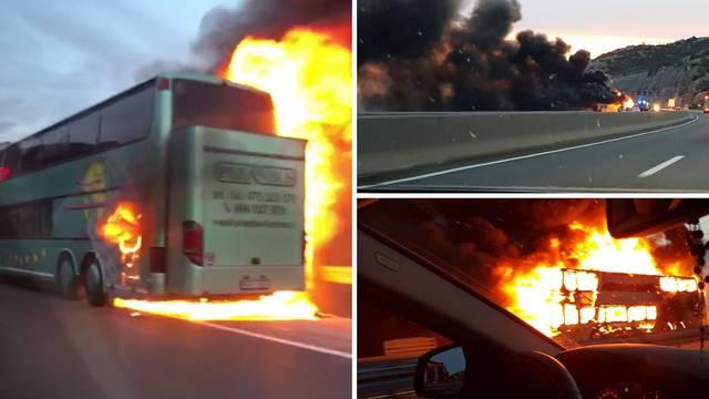 Putnici nastavili vožnju: 'Uzrok požara je bio kvar instalacija...'