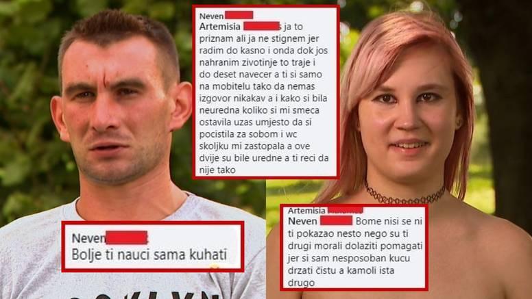 Romansa ipak nije zaživjela? Neven i Samanta ratuju online: 'Ostavila si nered i začepila WC'