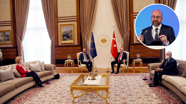 Charles Michel nakon 'kauč skandala' s Erdoganom i Von Leyen: 'Baš loše spavam'
