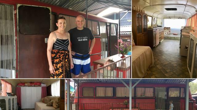 Djed je kupio autobus u cirkusu i sam ga pretvorio u vikendicu