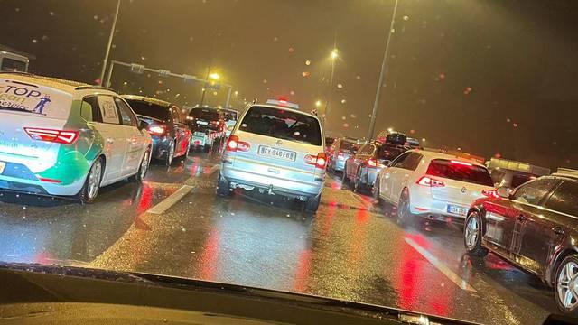 Gužve na Bregani: 'Čekam već tri sata, svi su vozači nervozni '