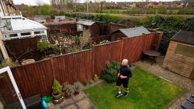 Bivši bacač koplja u dvorištu je istrčao 'dobrotvorni maraton'