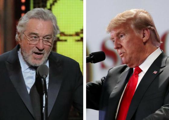 Trump nije ostao dužan zbog psovke: 'De Niro ima nizak IQ'
