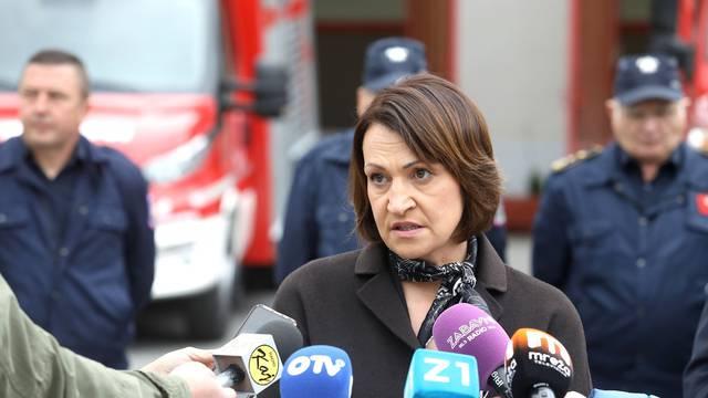 Zagreb: Pavičić Vukičević JVP Grada Zagreba predala ključeve novih vozila