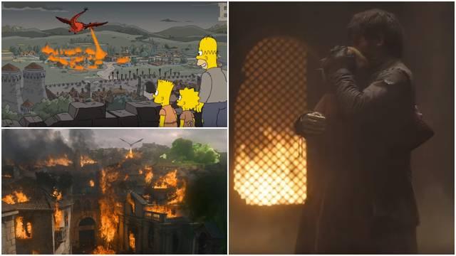 Opet su 'pogodili': Simpsoni predvidjeli kraj epizode 'GOT-a'