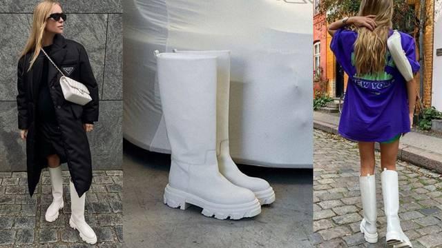 Snježno bijeli hit: Visoke čizme