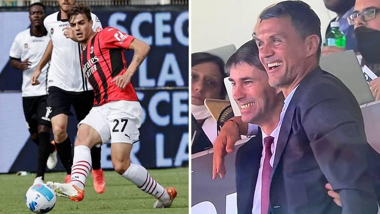 Treći Maldini zabio za Milan: Tata Paolo je skakao od sreće