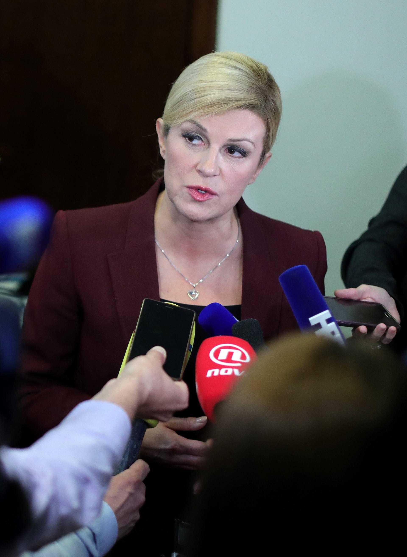 Zagreb: Kolinda Grabar-Kitarović dala izjavu nakon Foruma Inicijative triju mora