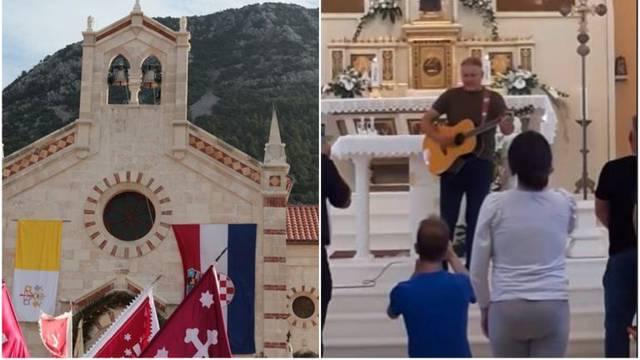 Thompson nastupio u crkvi kod don Miljenka Babaića: Vjernici su na nogama pratili spektakl...