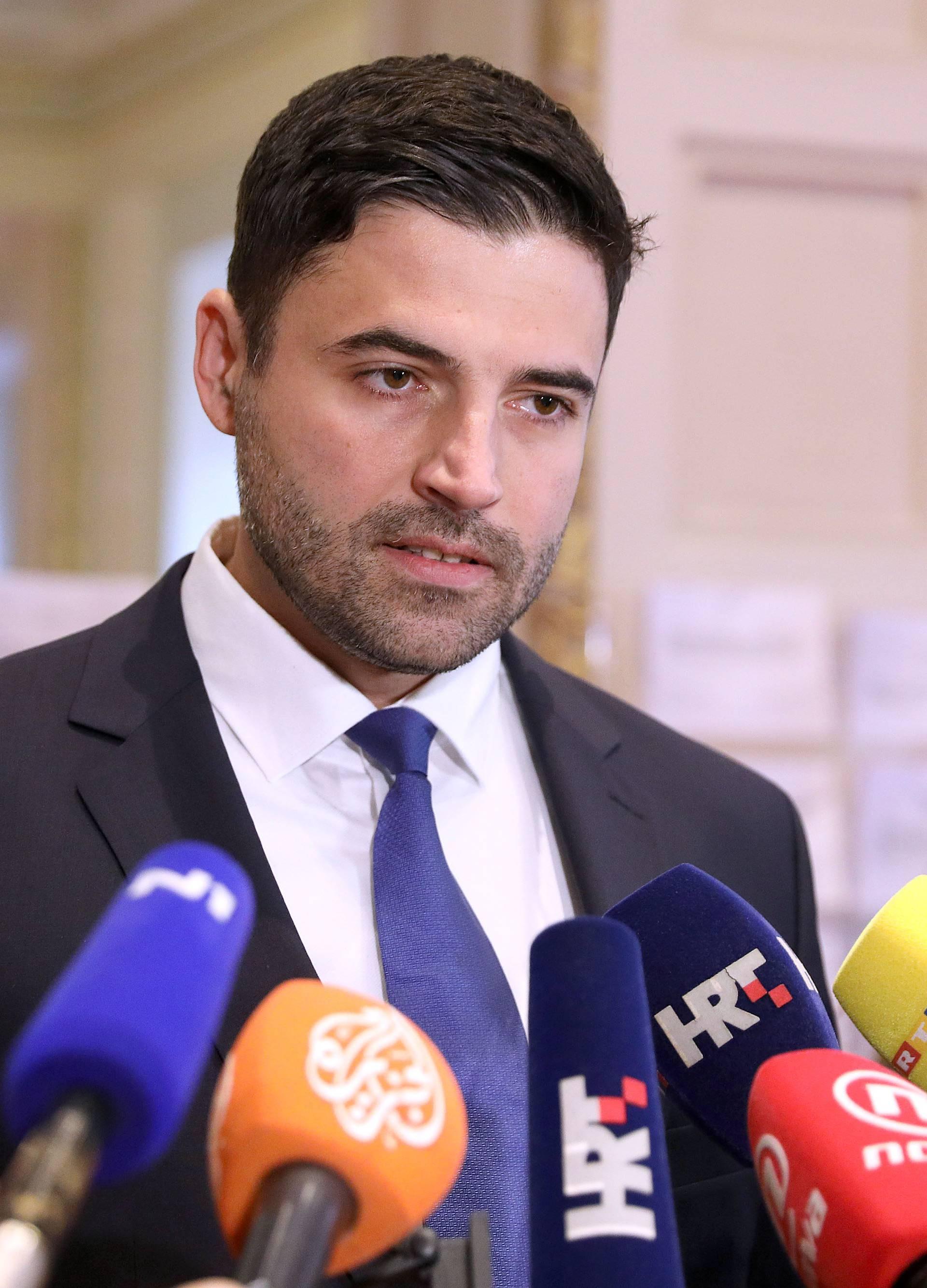Zagreb: Bernardić održao konferenciju za medije