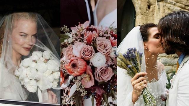 10 vjenčanih buketa poznatih mladenki koje vrijedi kopirati