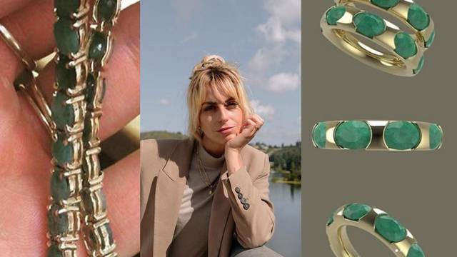 Dizajnerica Jonne Amaya redizajnira stari obiteljski nakit u nove i moderne chic detalje