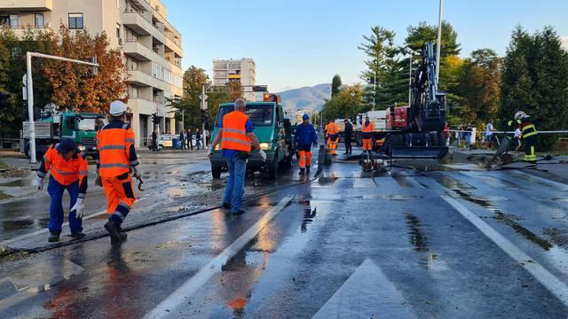 U Zagrebu opet pukle cijevi: Čak tri kvarta su ostala bez vode
