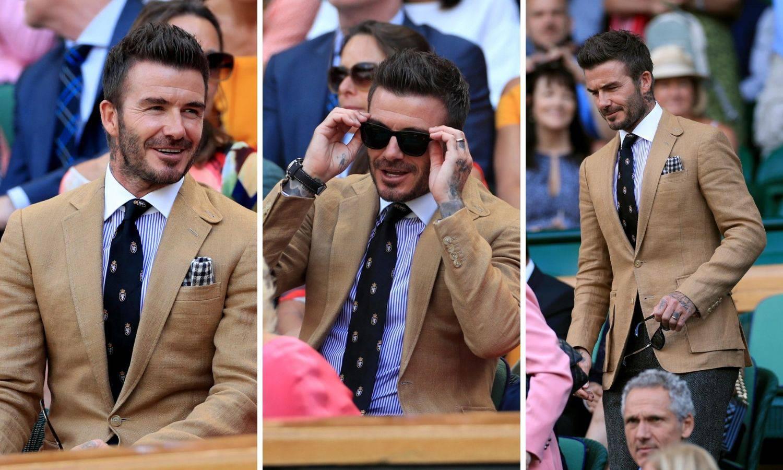 Ma tko još gleda tenis! David Beckham opet zasjenio sve...