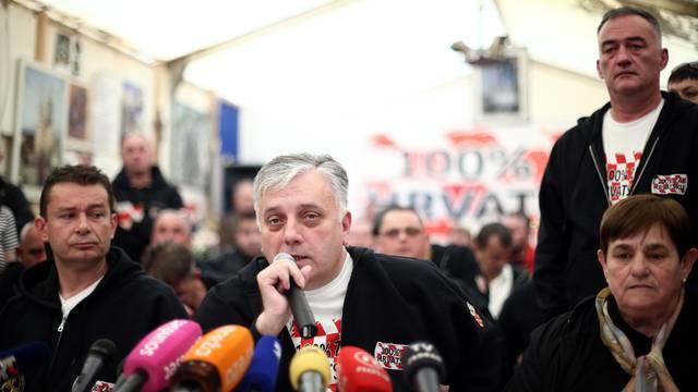 'Prosvjed je gotov, a šator seli iz Savske u  vukovarski muzej'