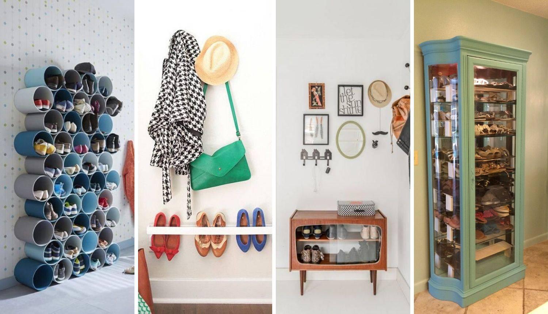 Super ideje za cipele: Stavite ih u vitrinu ili u policu od 'cijevi'