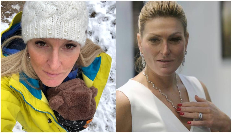 Janica Kostelić po prvi put s Oskarom: 'Čovječuljak u šetnji'