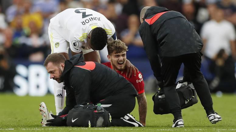 Užasan lom noge Liverpoolova igrača. Nisu htjeli pustiti snimku