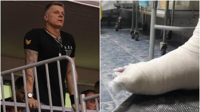 Imao koronu pa opet završio u bolnici: Đorđe je slomio nogu...