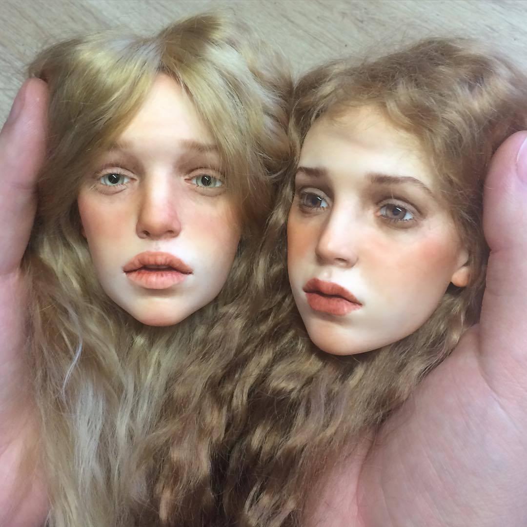 Umjetnost ili horor? Ruski umjetnik radi realistične lutke