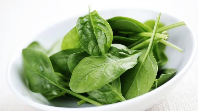 Špinat nije samo odličan kao hrana, nego i kao izvor energije