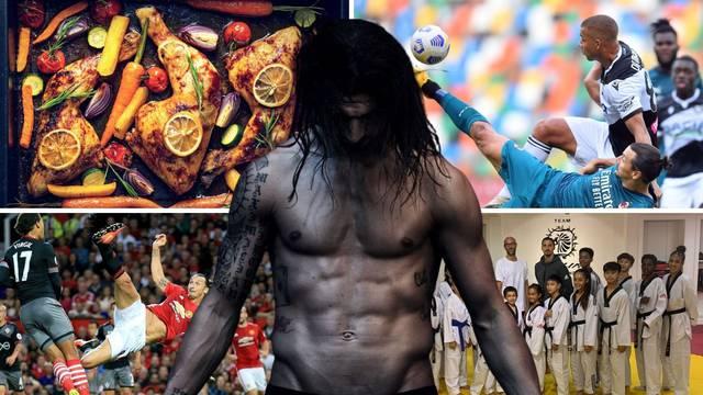 Tajna Ibrinog uspjeha: Jelovnik posložen 'u gram' i taekwondo