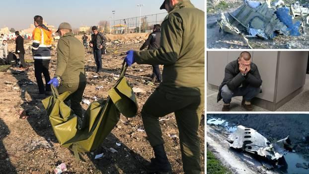 Slučajno srušili avion: Iranci poslali  crne kutije na ispitivanje