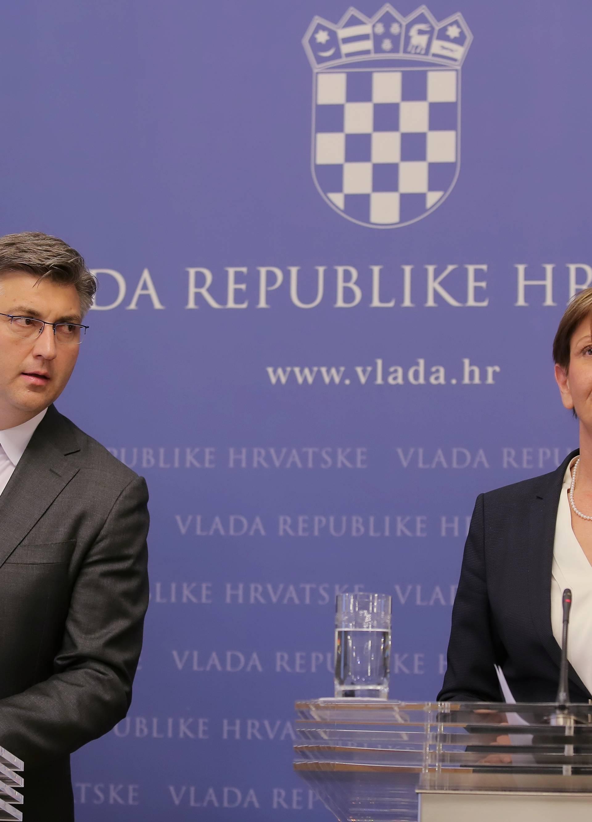 Martina Dalić: Nije bilo govora o tome da budem na listi HDZ-a