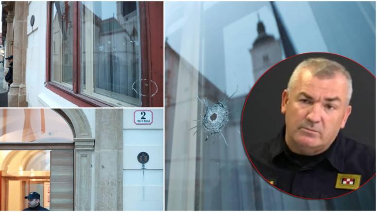 Na zgradi Vlade vidljive su rupe od metaka: 'Mladić je pucao na tri policajca,  motiv nije osoban'