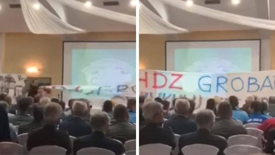 Ultrasi Cibalije upali na jubilej: HDZ grobari, Vinkulju ste ubili