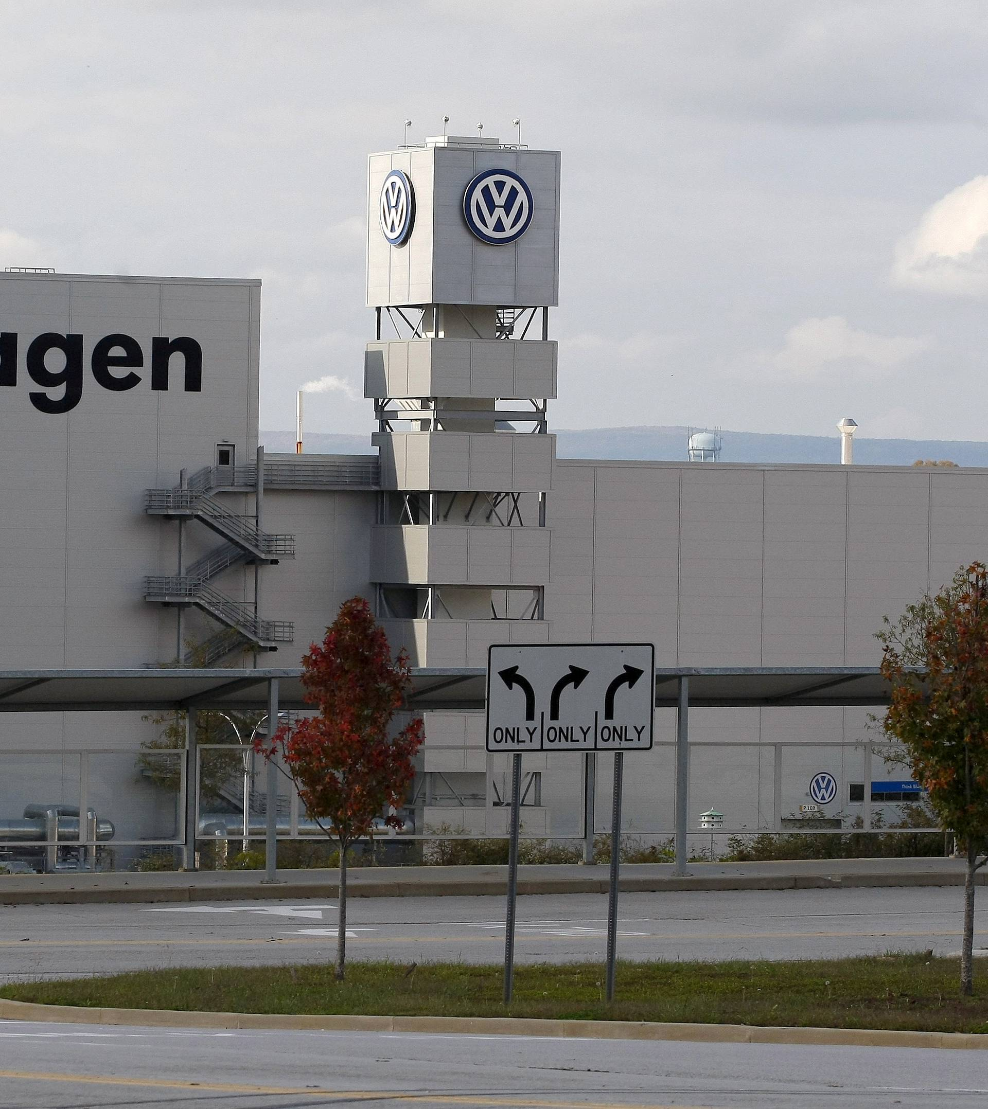 FILE PHOTO: The Volkswagen Chattanooga Assembly Plant in Chattanooga