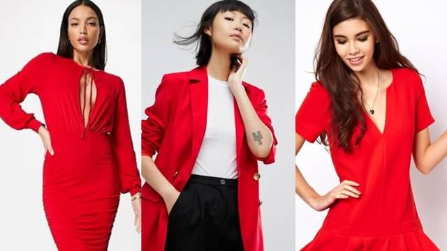 Crvena je zakon: Boja strasti u službi atraktivnog dnevnog stila