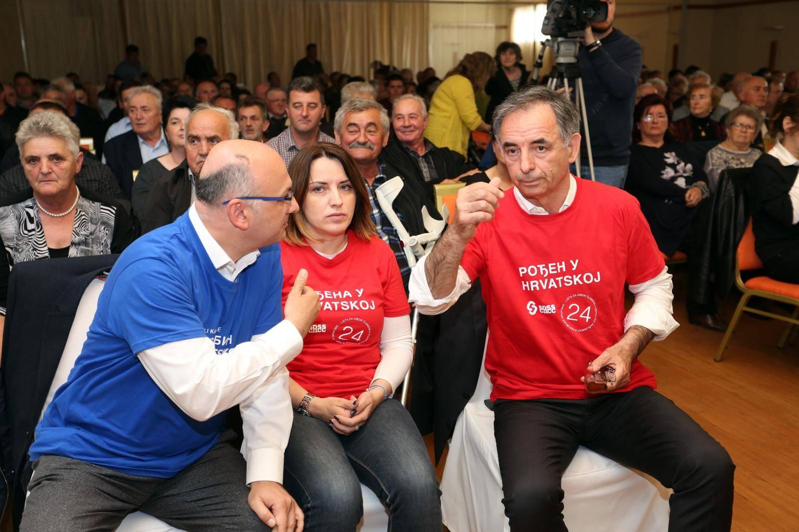 Karlovac: Predizborni skup kandidata  SDSS-a za EU izbore