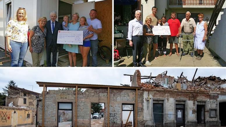 Njemački dobrotvor iznenadio dvije obitelji: 'Guten Tag, donio sam vam 15.000 eura pomoći'